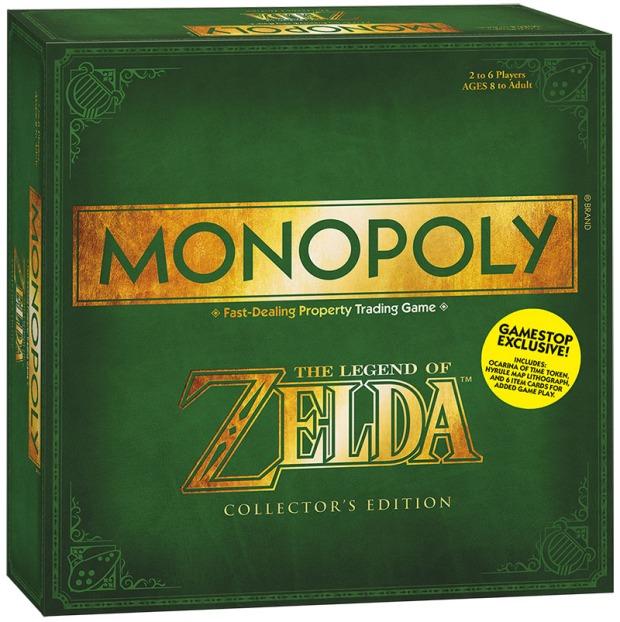 caja monopoly zelda