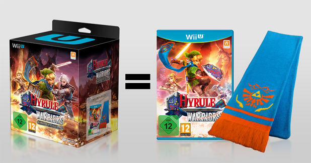 hyrule warriors edición especial