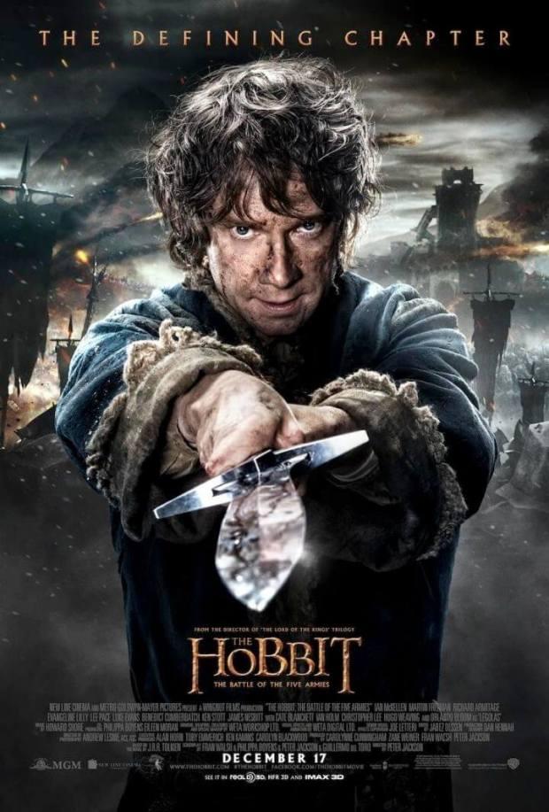 el hobbit 3 bilbo poster