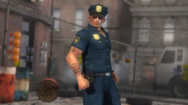 dead or alive 5 ultimate dlc trajes policia 1