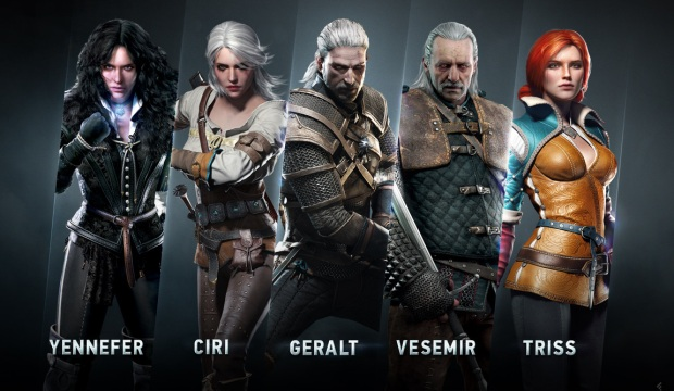 the witcher 3 personajes
