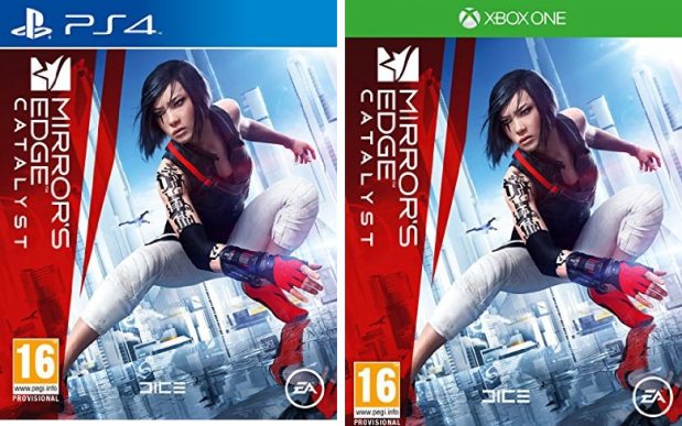 mirror´s edge catalyst caratula