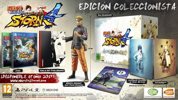 Naruto Ultimate Ninja 4 Coleccionista