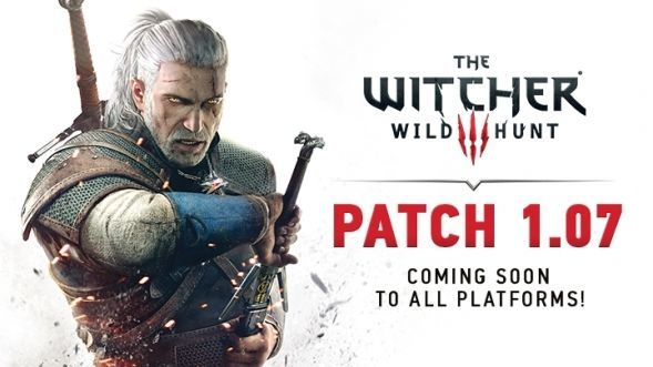 the witcher 3 parche 1.07