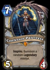 Hearthstone Confessor Paletress