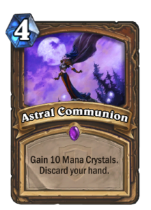Hearthstone Astral Comunnion