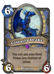 Hearthstone Coldarra Drake