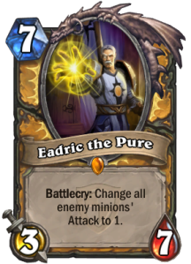 Hearthstone Eadric the Pure