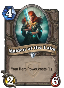 Hearthstone Maiden of the Lake