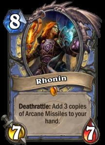 Hearthstone Rhonin