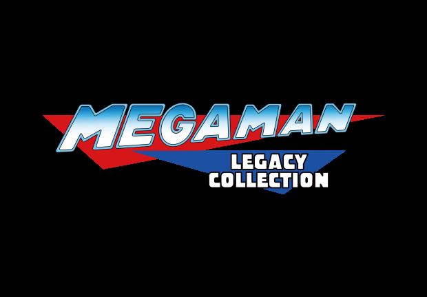 Megaman Legacy Logo