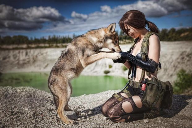 cosplay metal gear solid V the phantom pain 10