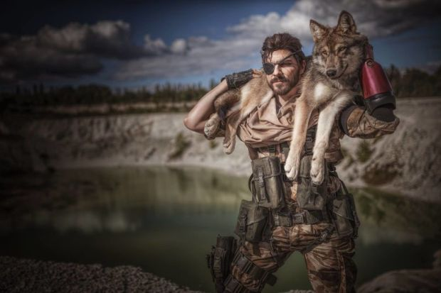 cosplay metal gear solid V the phantom pain 3