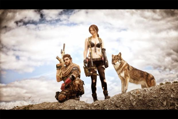 cosplay metal gear solid V the phantom pain 4