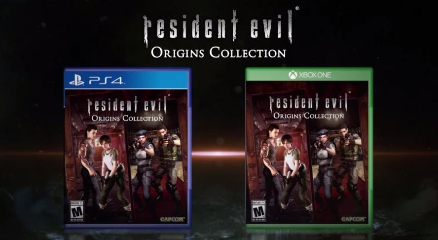 Resident Evil Origins Collection Portadas