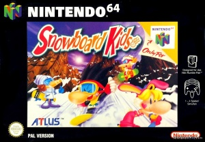 Snowboard Kids cover