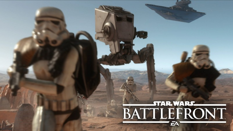 Star Wars Battlefront desierto