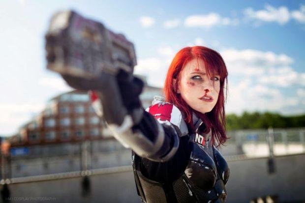 cosplay comandante shepard mass effect 4