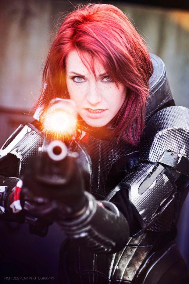cosplay comandante shepard mass effect 5