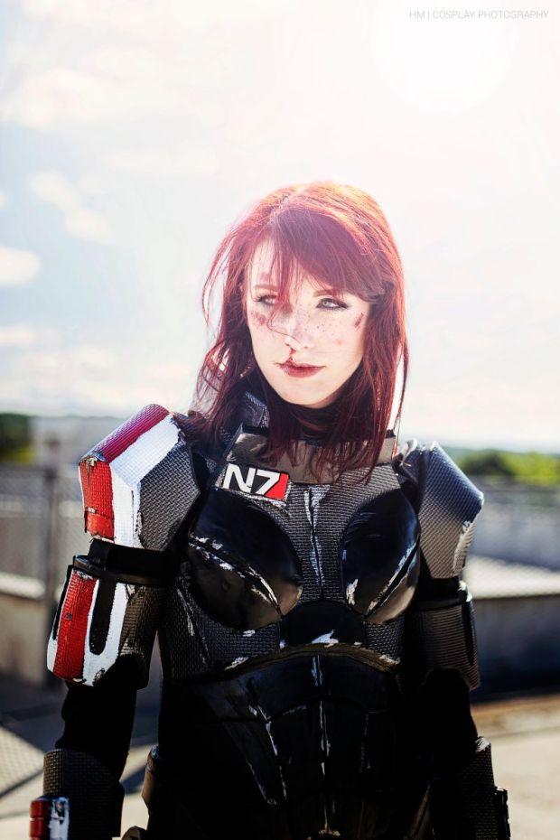 cosplay comandante shepard mass effect 6