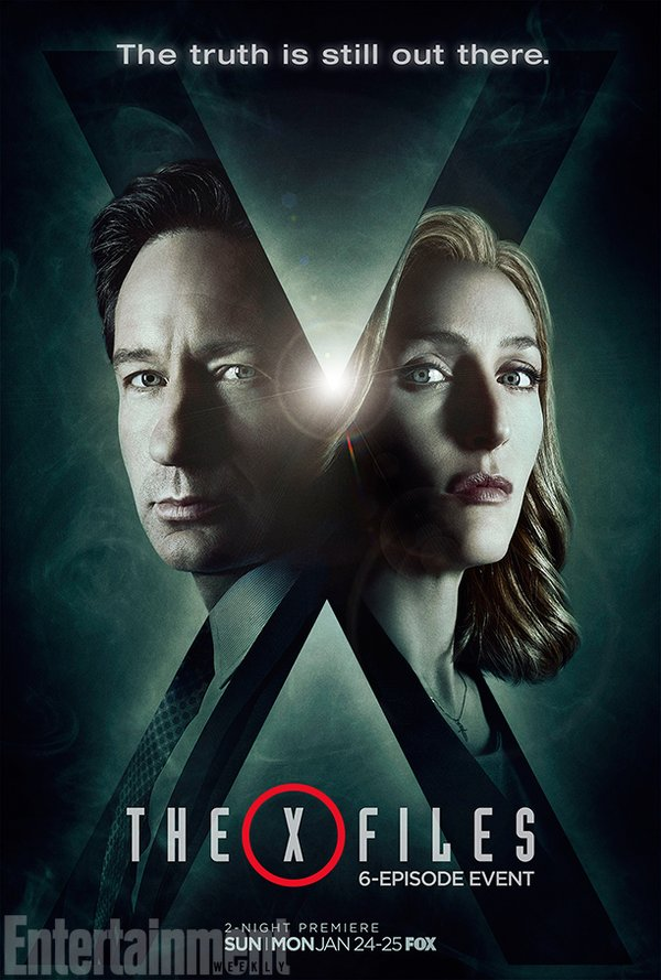 poster x files 2016