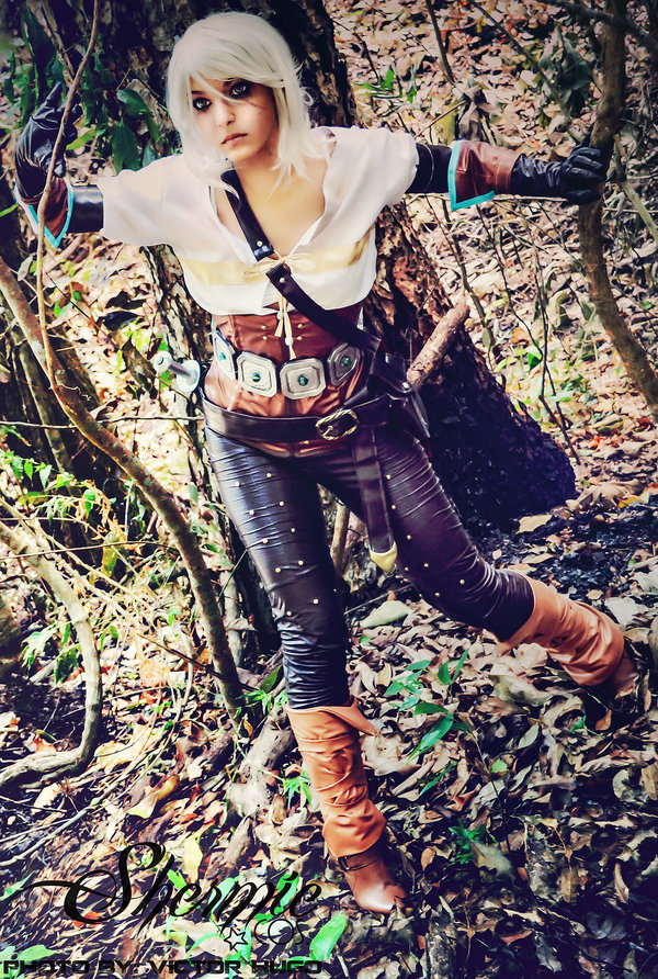 the witcher 3 ciri cosplay 2