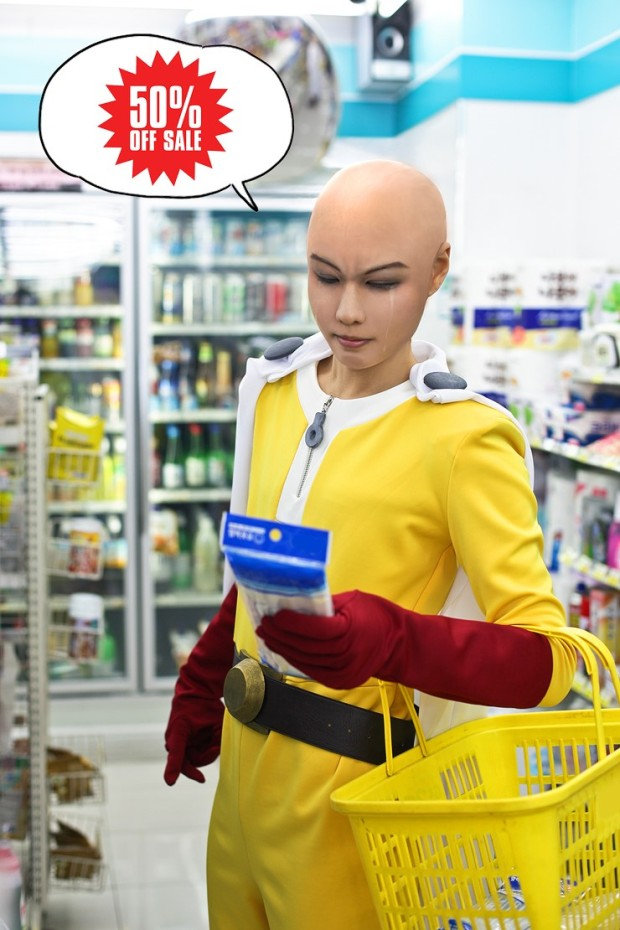 cosplay one punch man 10