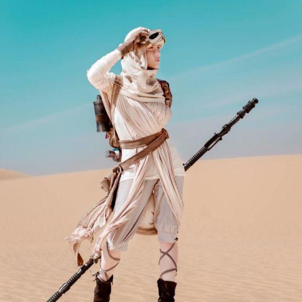 cosplay star wars el despertar de la fuerza 1