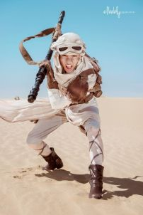 cosplay star wars el despertar de la fuerza 5