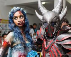 comic con cosplays sri lanka 9