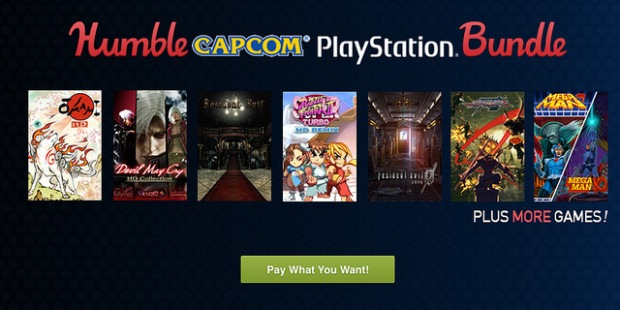 humble capcom playstation bundle
