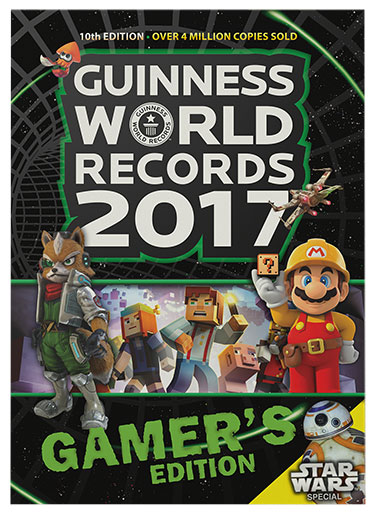 worlds record Guinness Gamer's Edition
