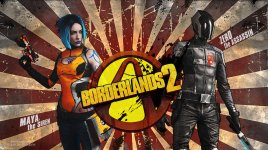 Sallozare - Cosplay Maya Borderlands 2