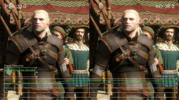 The Witcher 3: Wild Hunt PS4 vs XOne