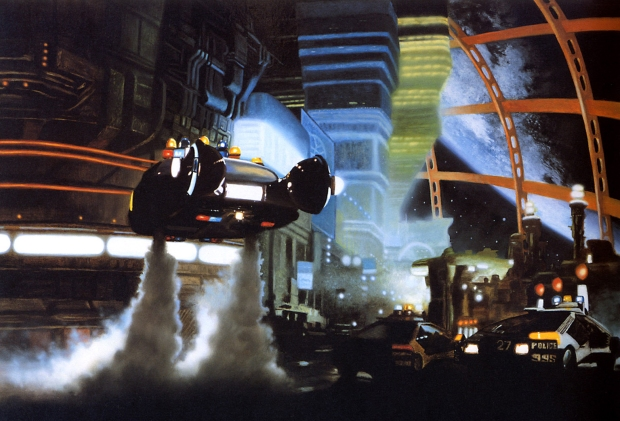 Blade Runner, coche policial