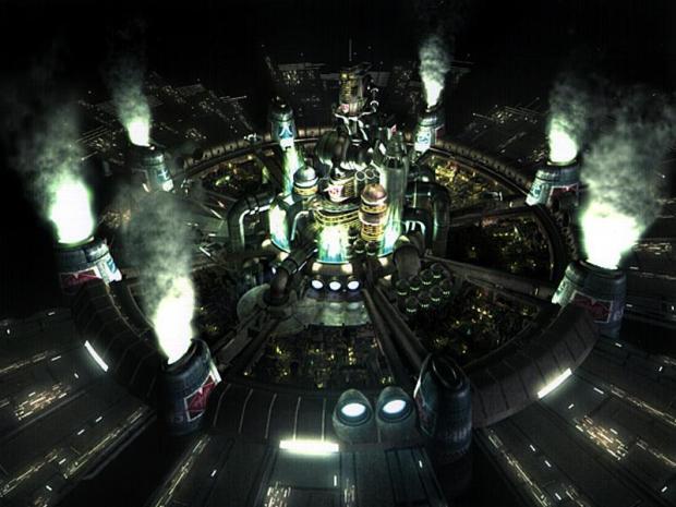 Ciudad de Midgar - Final Fantasy VII