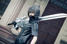 Final Fantasy XV cosplay Noctis Lucis Caelum por LanaTemirova
