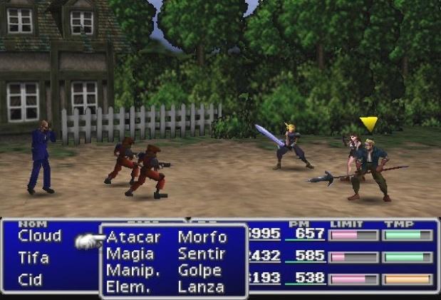 Sistema de combate de Final Fantasy VII