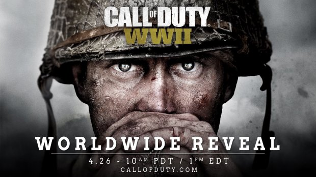 Worldwide Reveal de Call of Duty WWII