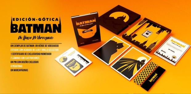 Batman Un Heroe de Videojuego Edicion Gotica