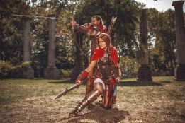 Cosplay Assassins Creed Odyssey Skunk
