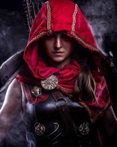 Cosplay Assassins Creed Odyssey Skunk