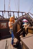 Cosplay de Nami en One Piece por firecloak